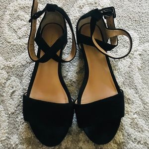 Banana Republic Suede Sandals